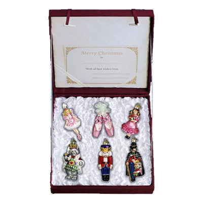 Old World Christmas Nutcracker Suite Ornament Collection