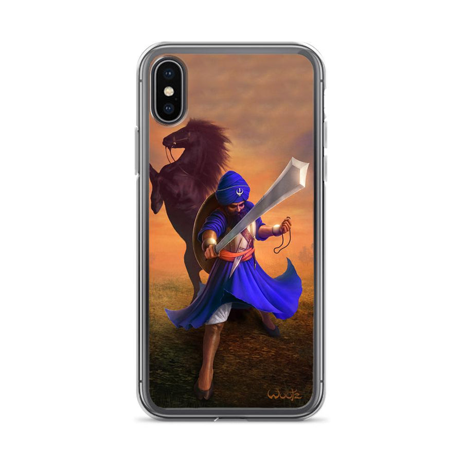 Banda Singh Bahadur Colour iPhone X Clip on Case