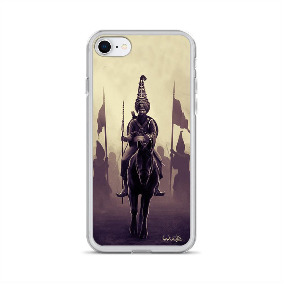 Akali Phula Singh Sepia iPhone 7/8 Clip on Case