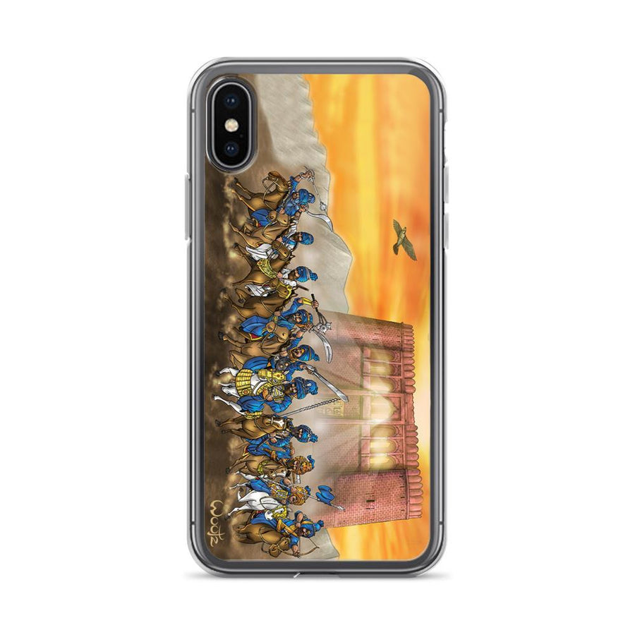 13 Akalis Charge iPhone X Clip on Case