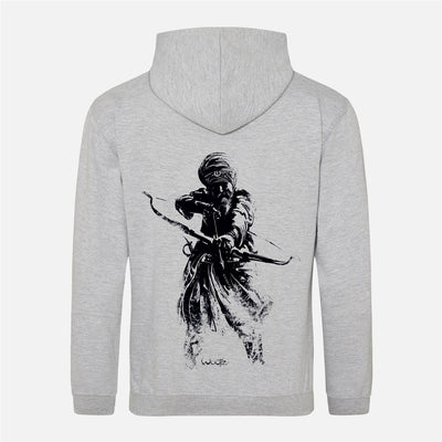 Bow & Arrow Warrior Zip Hoodie