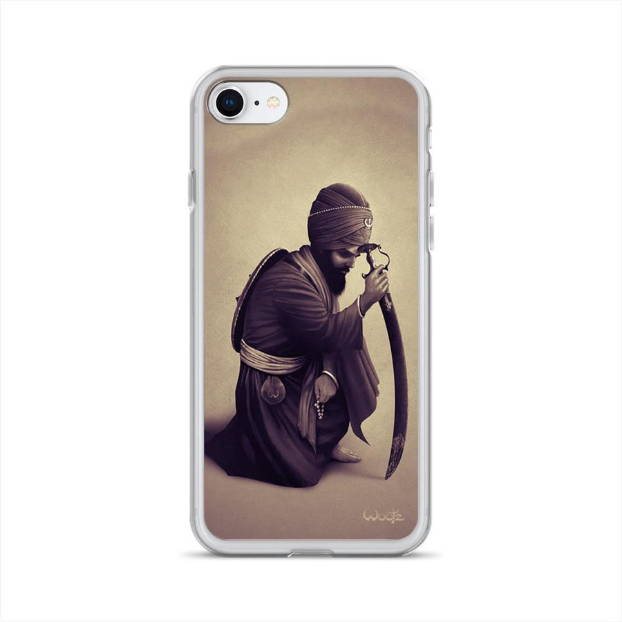 Contemplation Sepia iPhone 7/8 Clip on Case