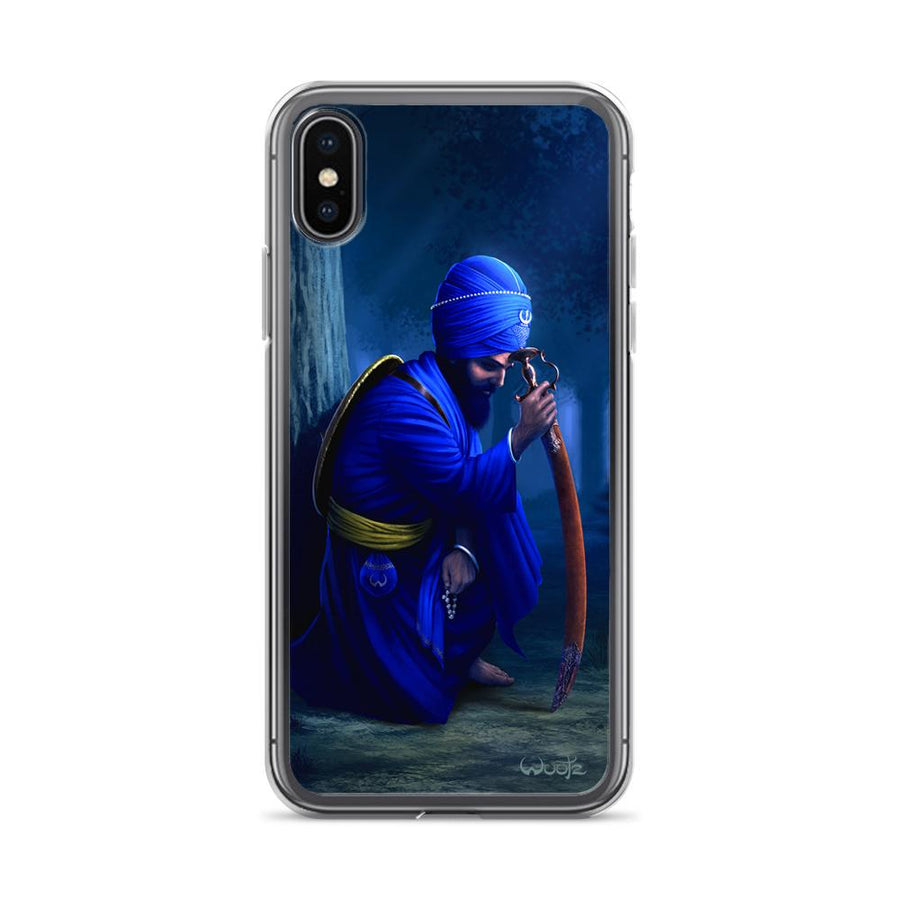 Contemplation iPhone X Clip on Case