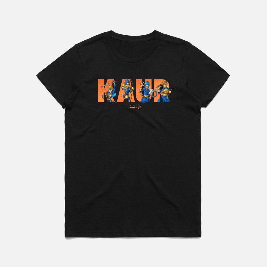 Kaur Text T-Shirt