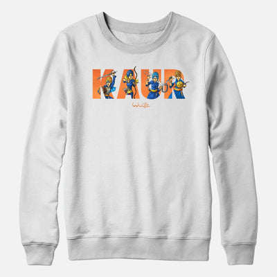 Kaur Text Crewneck