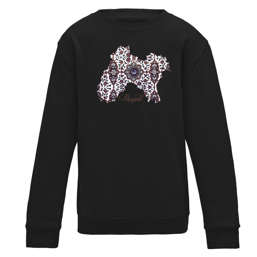 Punjab Fresco Kids Crewneck