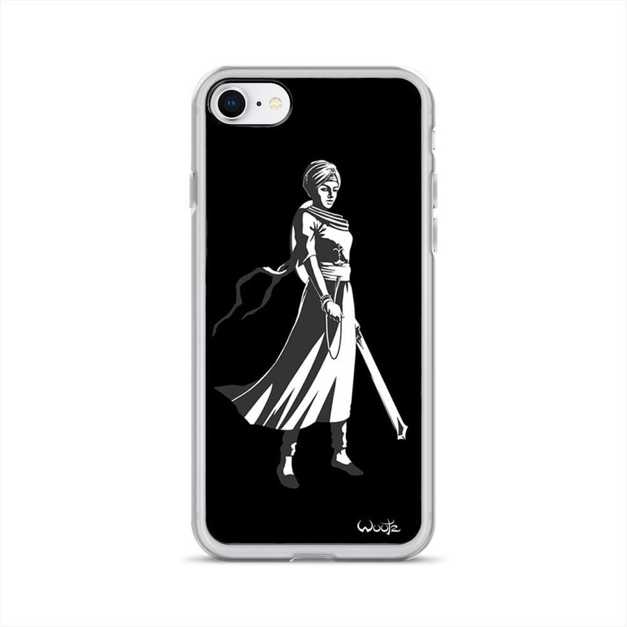 Mai Bhago BW iPhone 7/8 Clip on Case