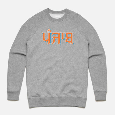 Punjab Tri Colour Text Sweatshirt