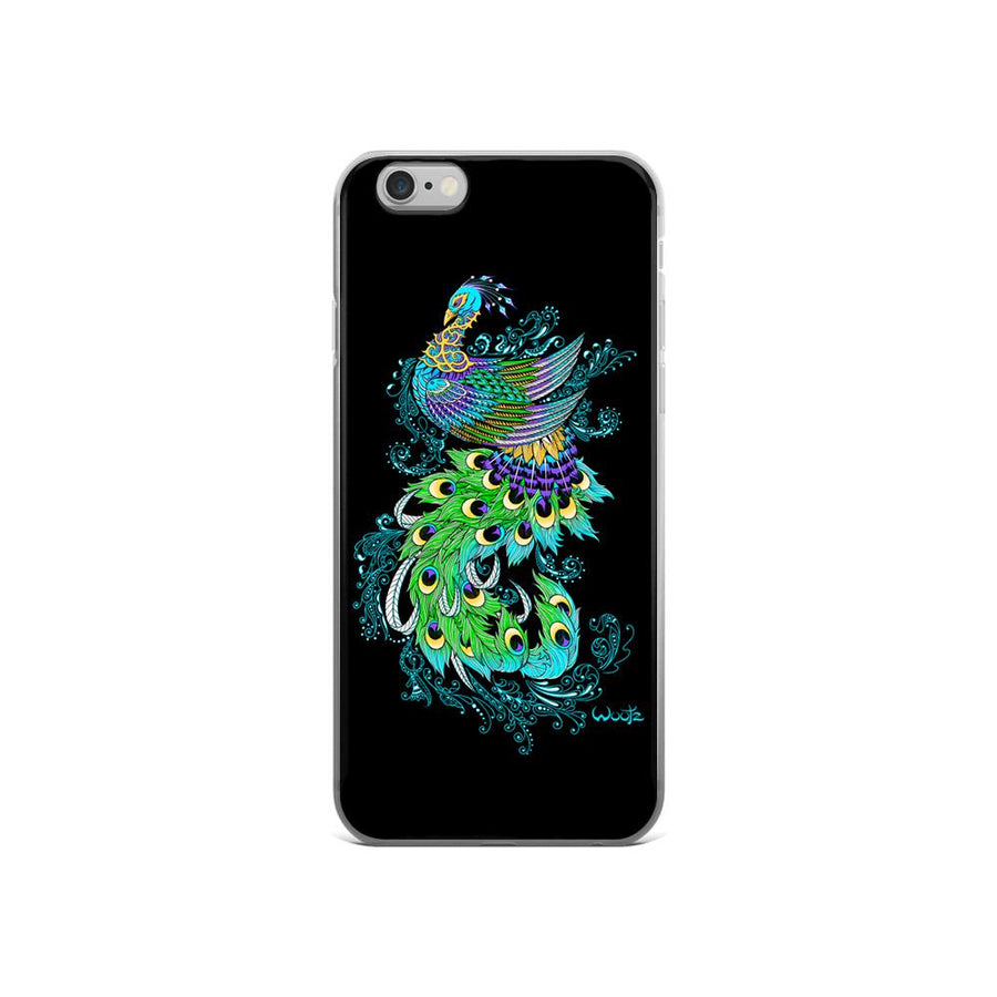 Peacock iPhone 5/5s Clip On Case