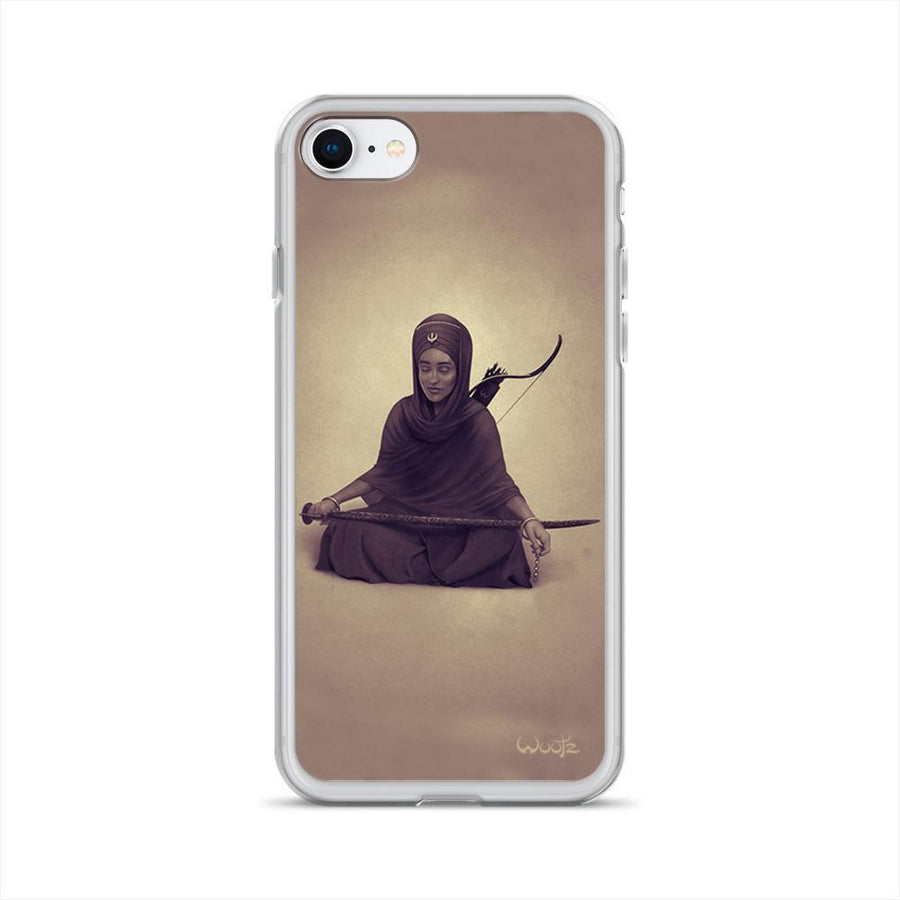 Reflection Sepia iPhone 7/8 Clip on Case