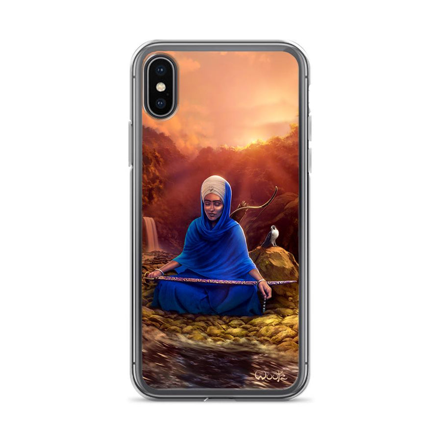 Reflection iPhone X Clip on Case