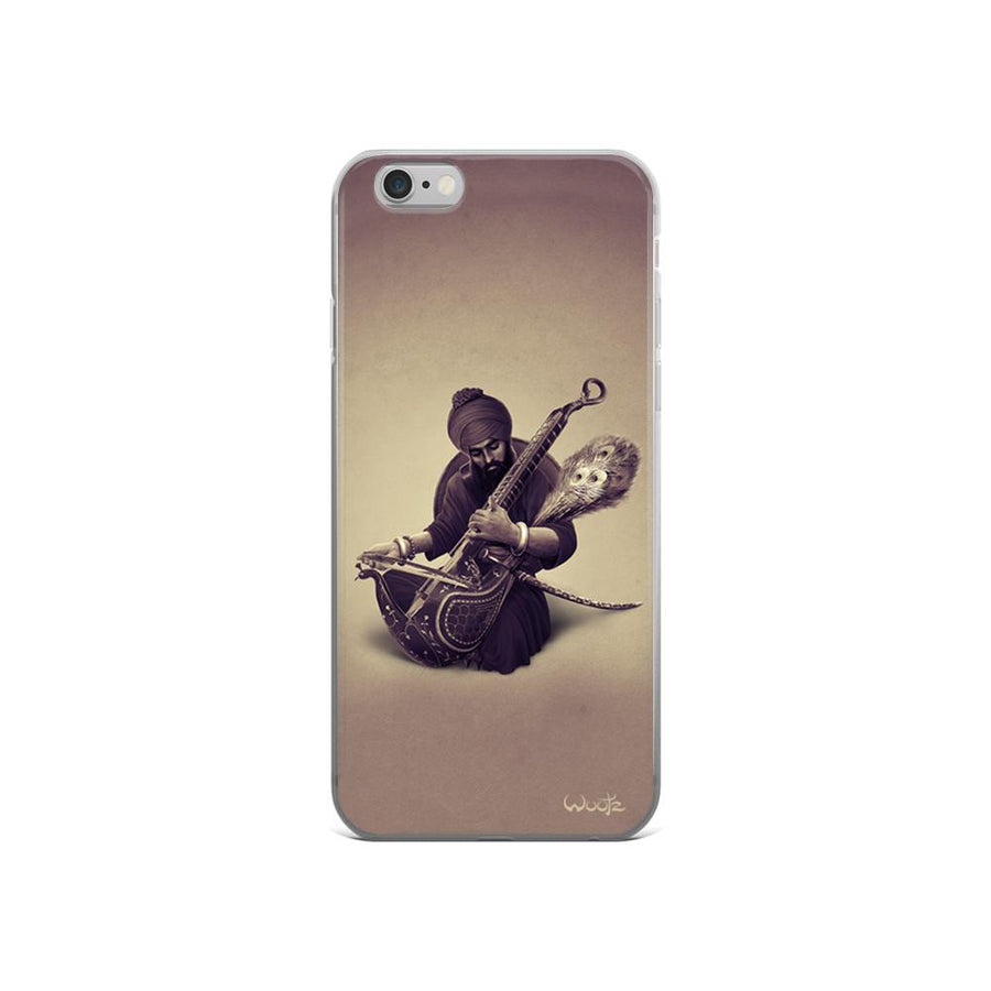 The Taus Sepia iPhone 5/5s Clip On Case