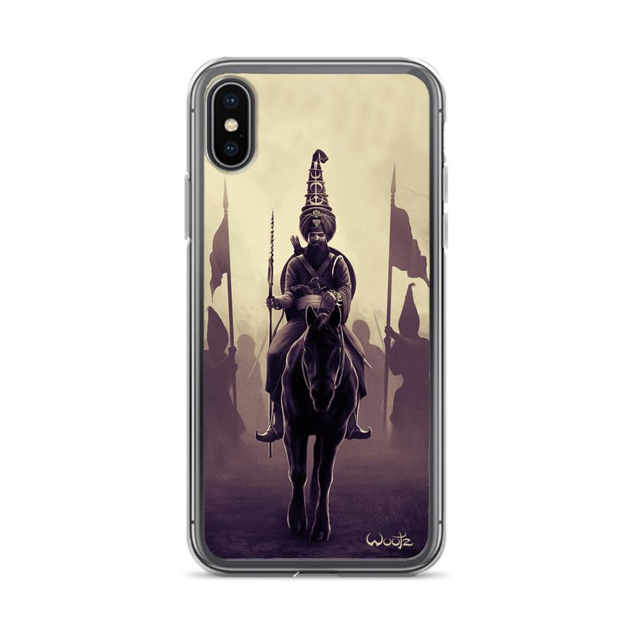 Akali Phula Singh Sepia iPhone X Clip on Case