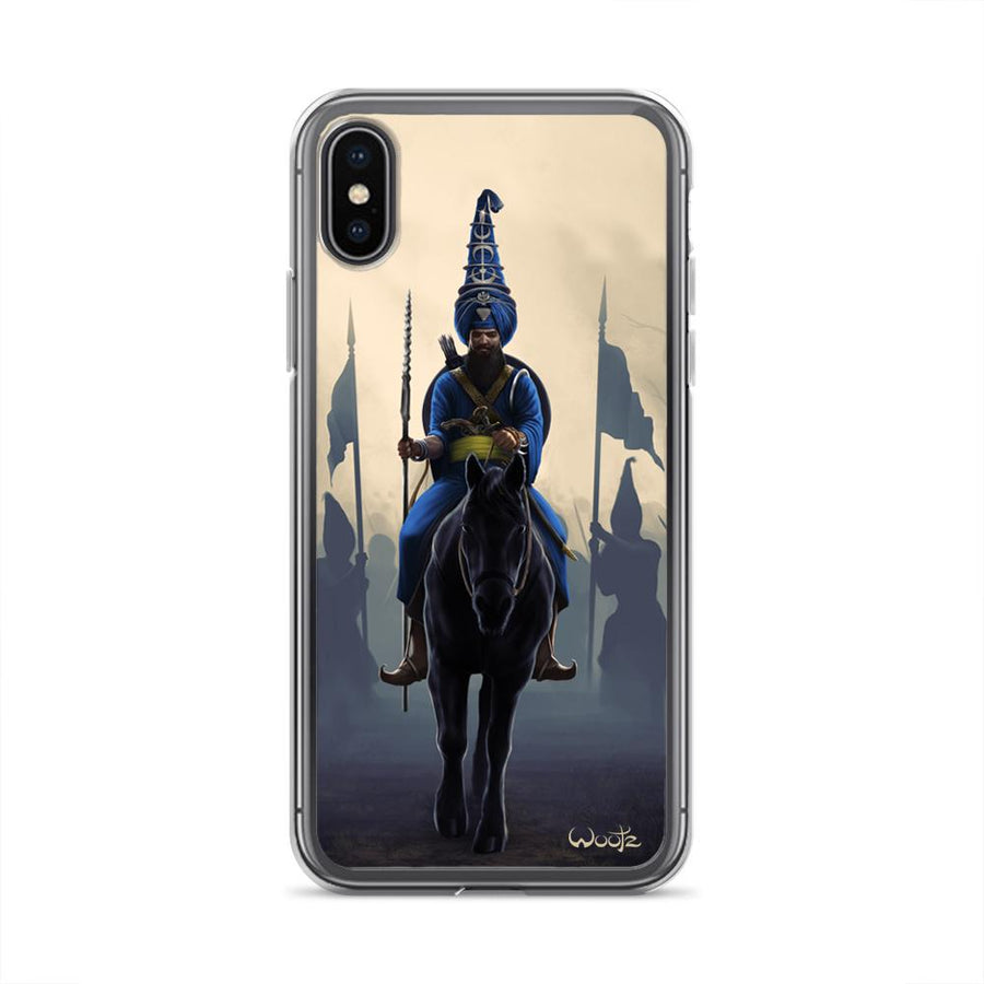 Akali Phula Singh iPhone X Clip on Case