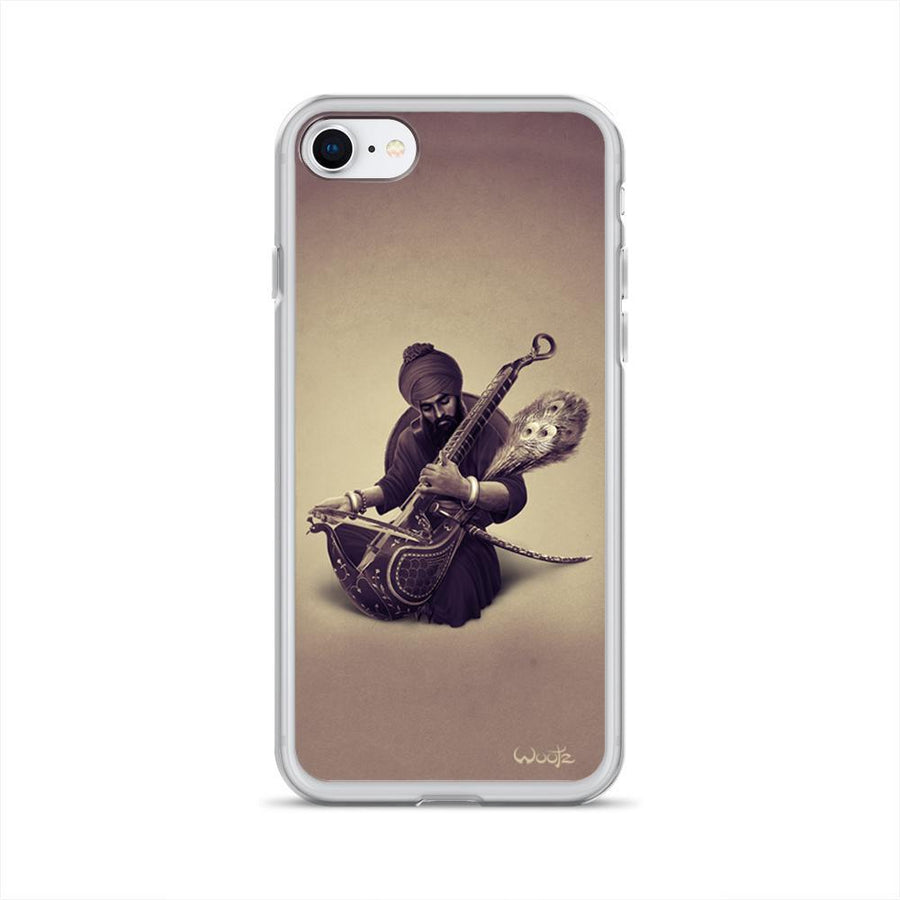 The Taus Sepia iPhone 7/8 Clip on Case