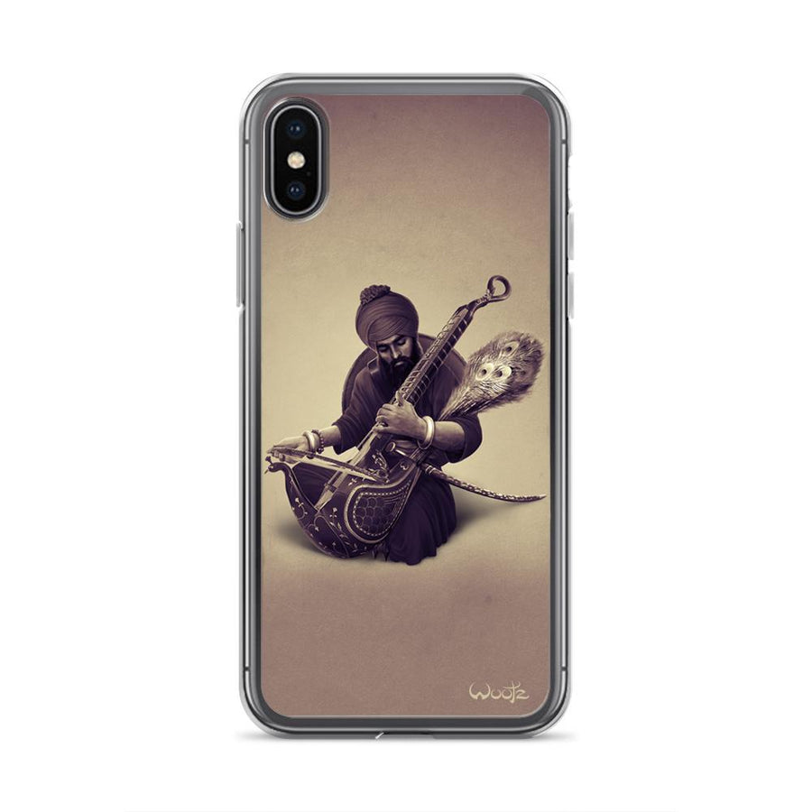 The Taus Sepia iPhone X Clip on Case