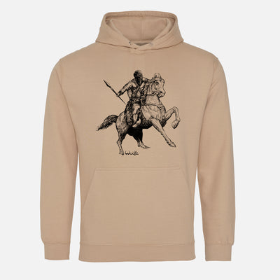 Warrior on Horseback Hoodie