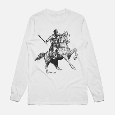 Warrior on Horseback Long Sleeve T-Shirt