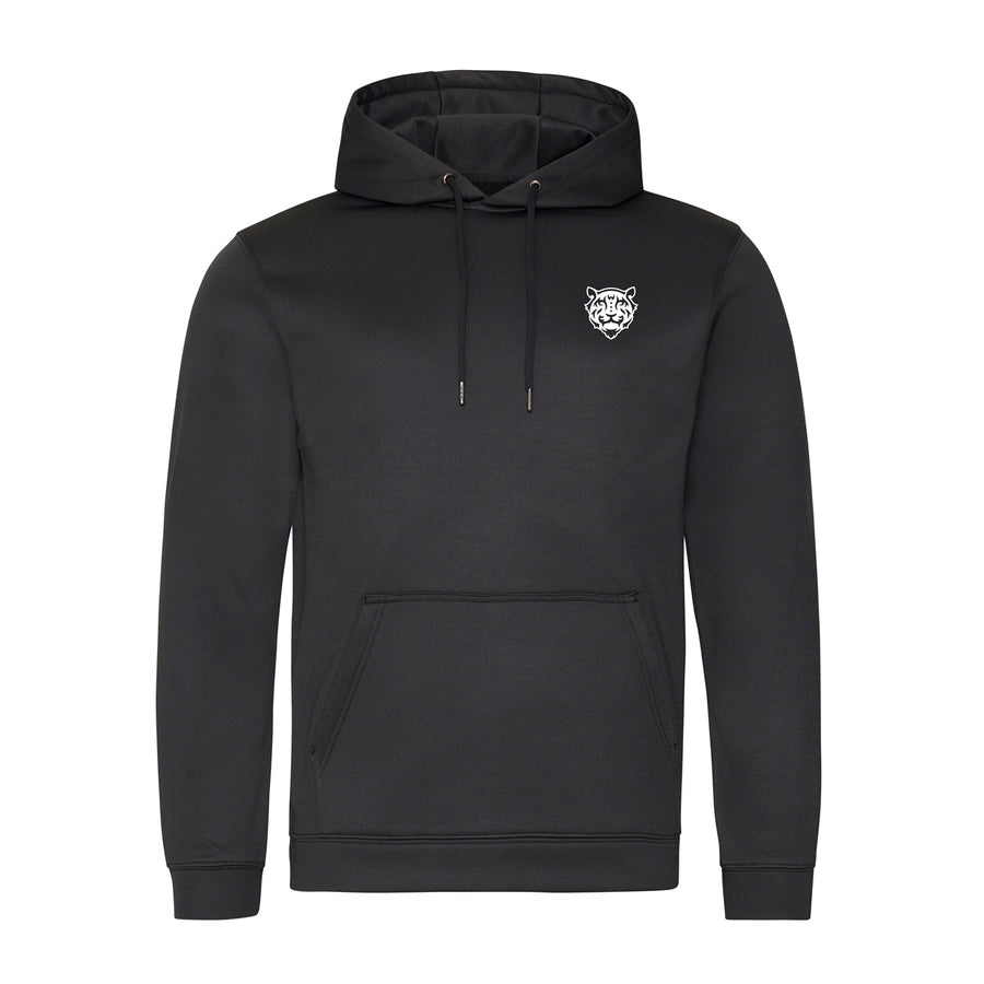 Tiger Logo Sports Hoodie Black