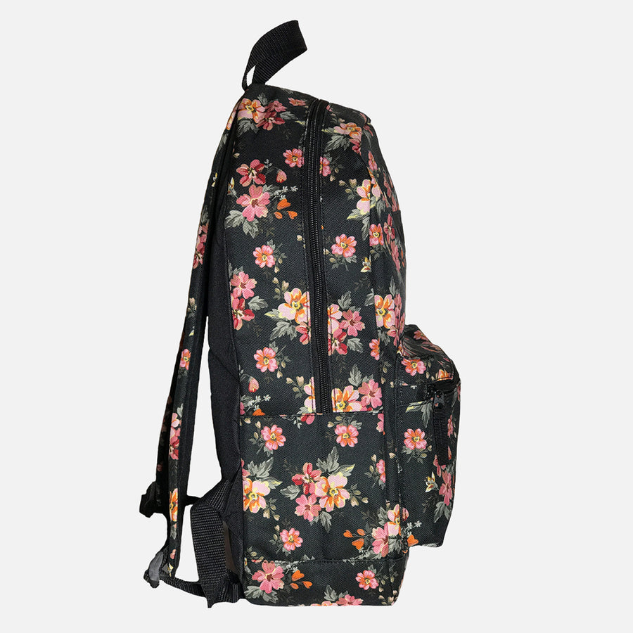 Wootz Box Logo Floral Backpack