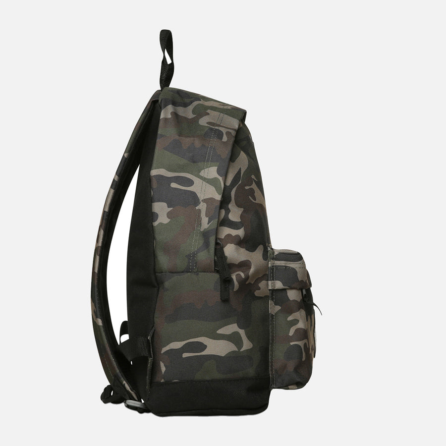 Tiger Logo Jungle Camo Backpack