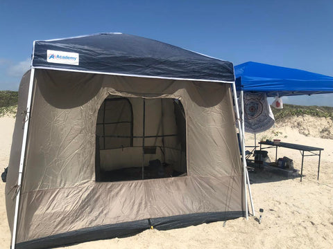 camping at north padre