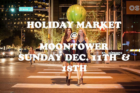 holiday market at moontower austin tx