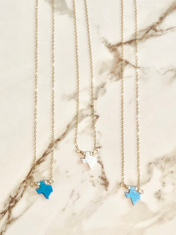 Texas Opal Necklace