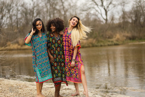 The Azalea Caftan (multiple colors)