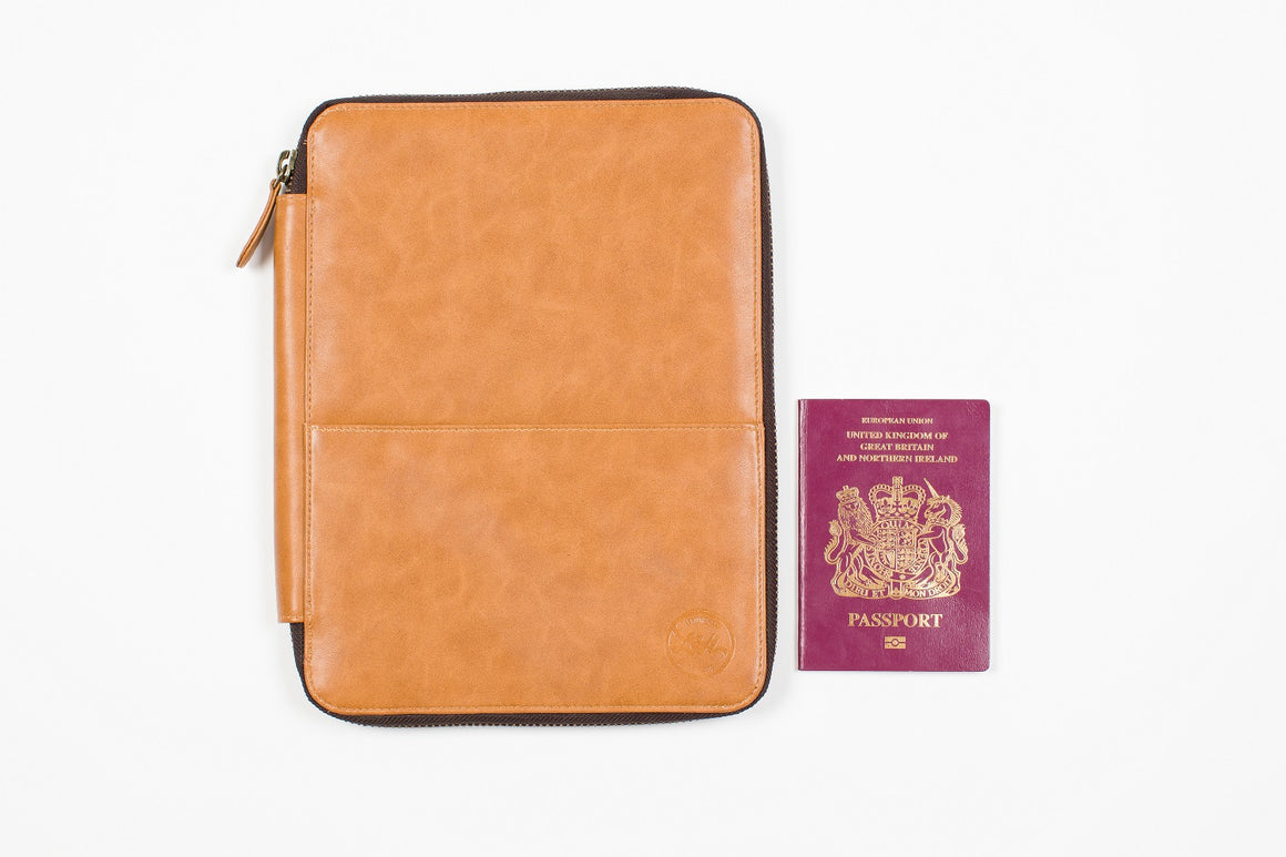 Vegan Travel Wallet Large