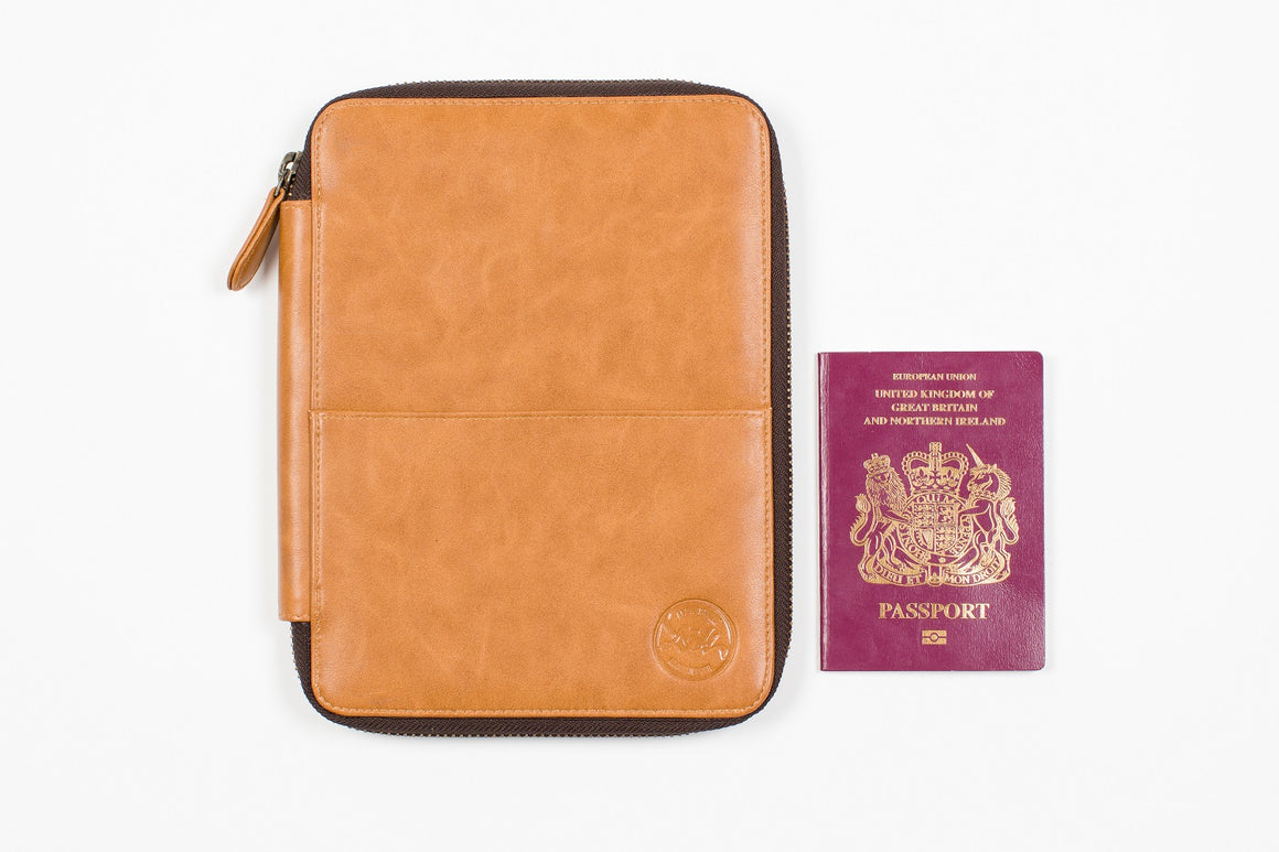 Vegan Travel Wallet Medium