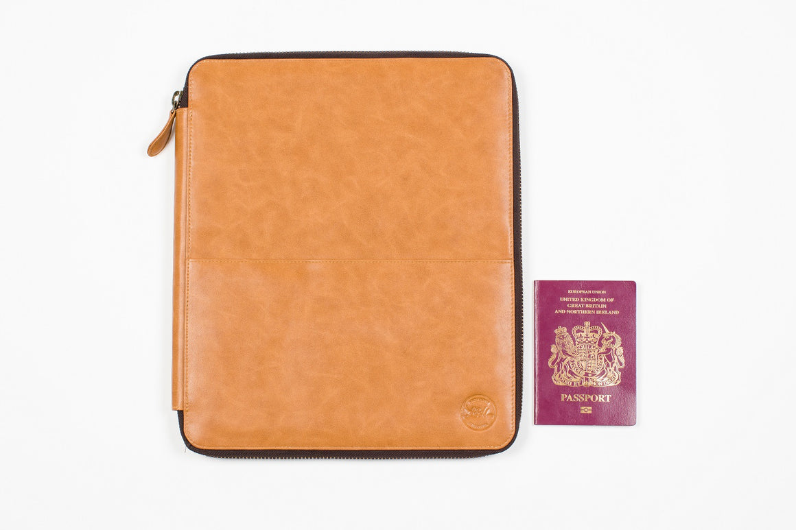 Vegan Travel Wallet XL