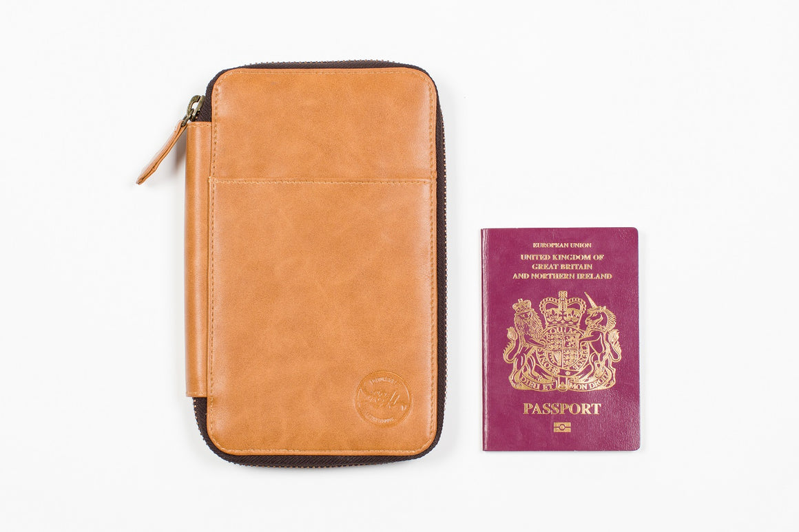 Vegan Travel Wallet XS