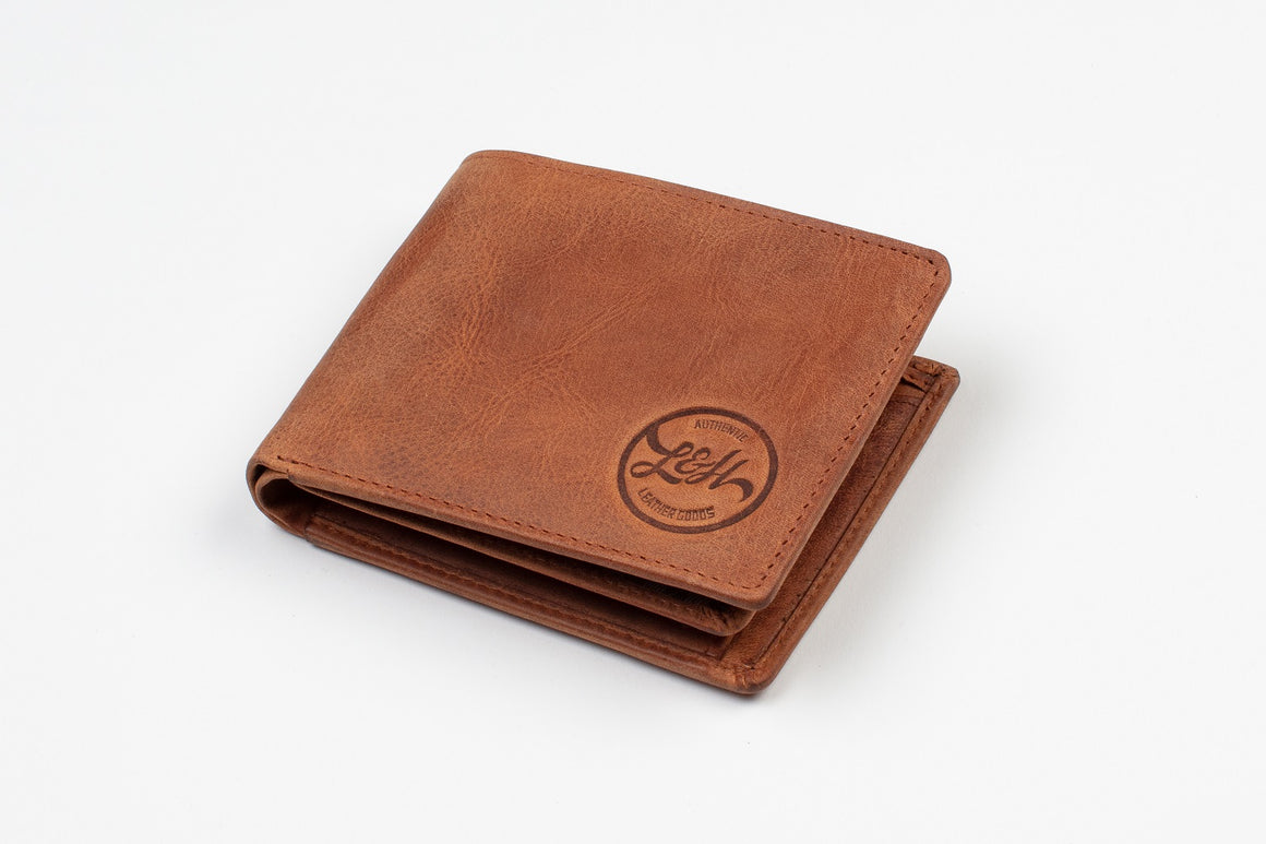 Gents Wallet (Vintage Tan)