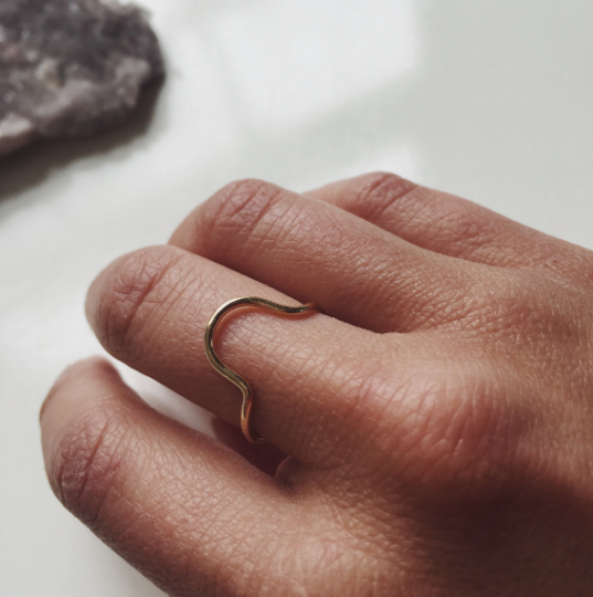 Semicircle Stacking Ring