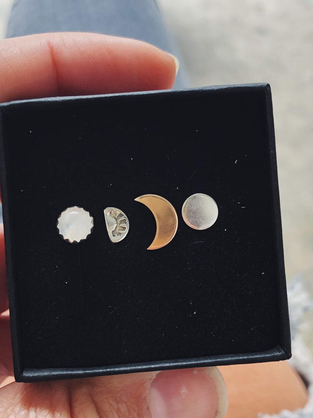 Moonstone Mix & Match Stud Set II