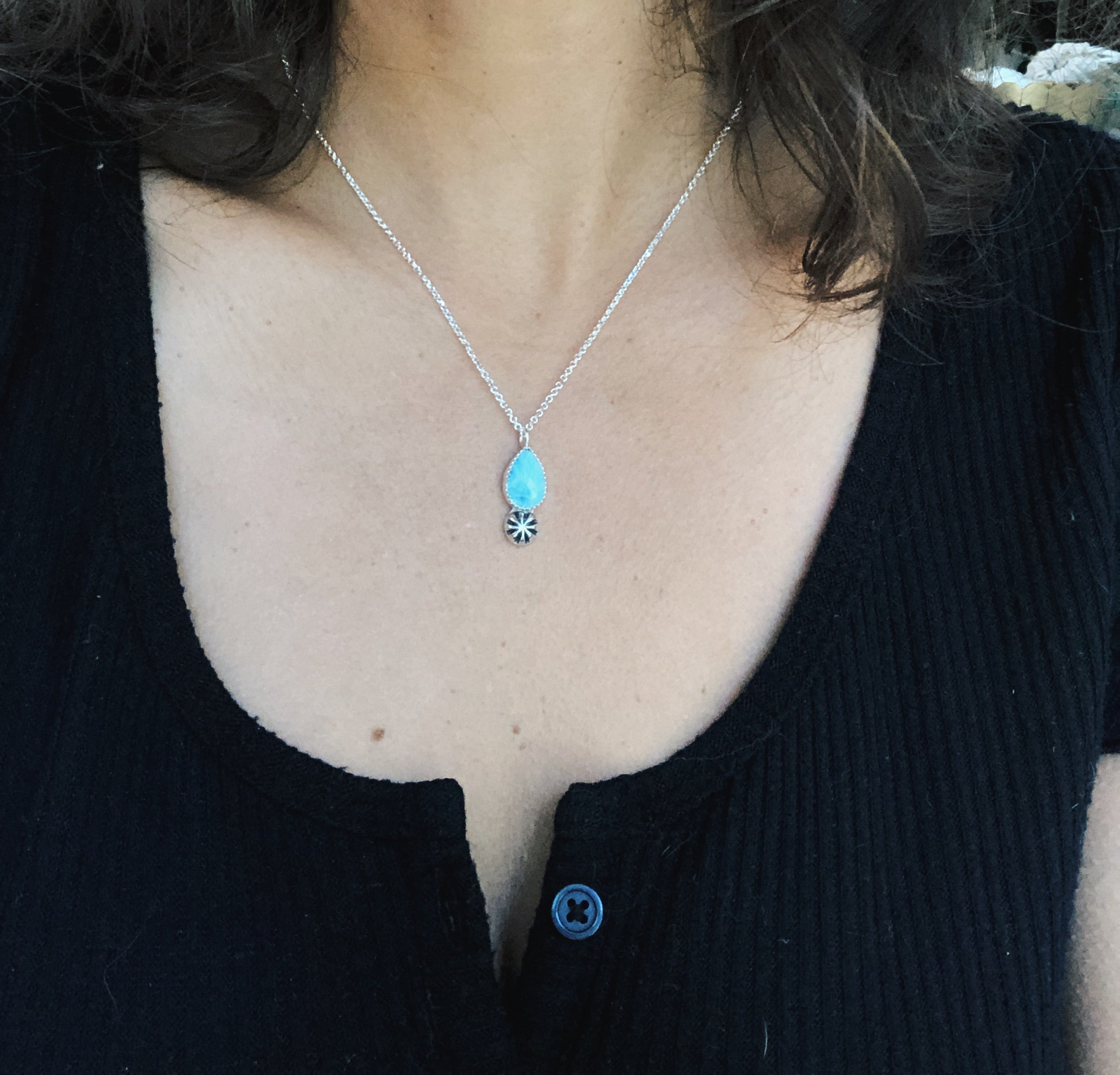 Larimar Layering Necklace I