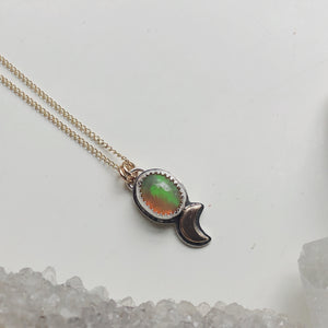 Opal Moondrop Necklace II