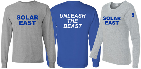 Solar East - LS T-shirt - Unleash the Beast