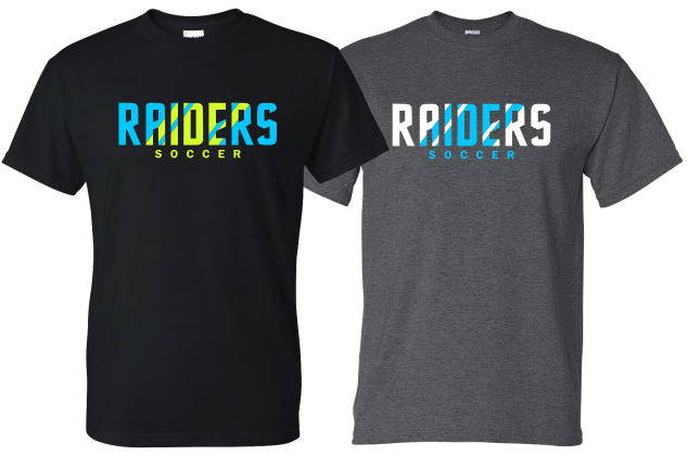Raiders Soccer - Neon Design - T-shirt