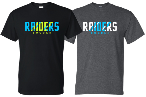 Raider Soccer - Neon Design - T-shirt