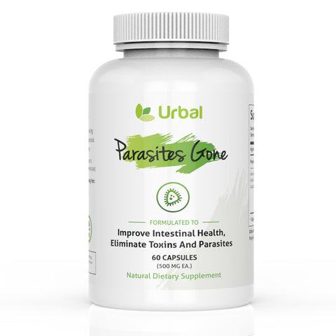 Parasites Gone - Natural Premium Parasites Cleanse - Yeast Infection Treatment - Parasite Detox - 60 Capsules