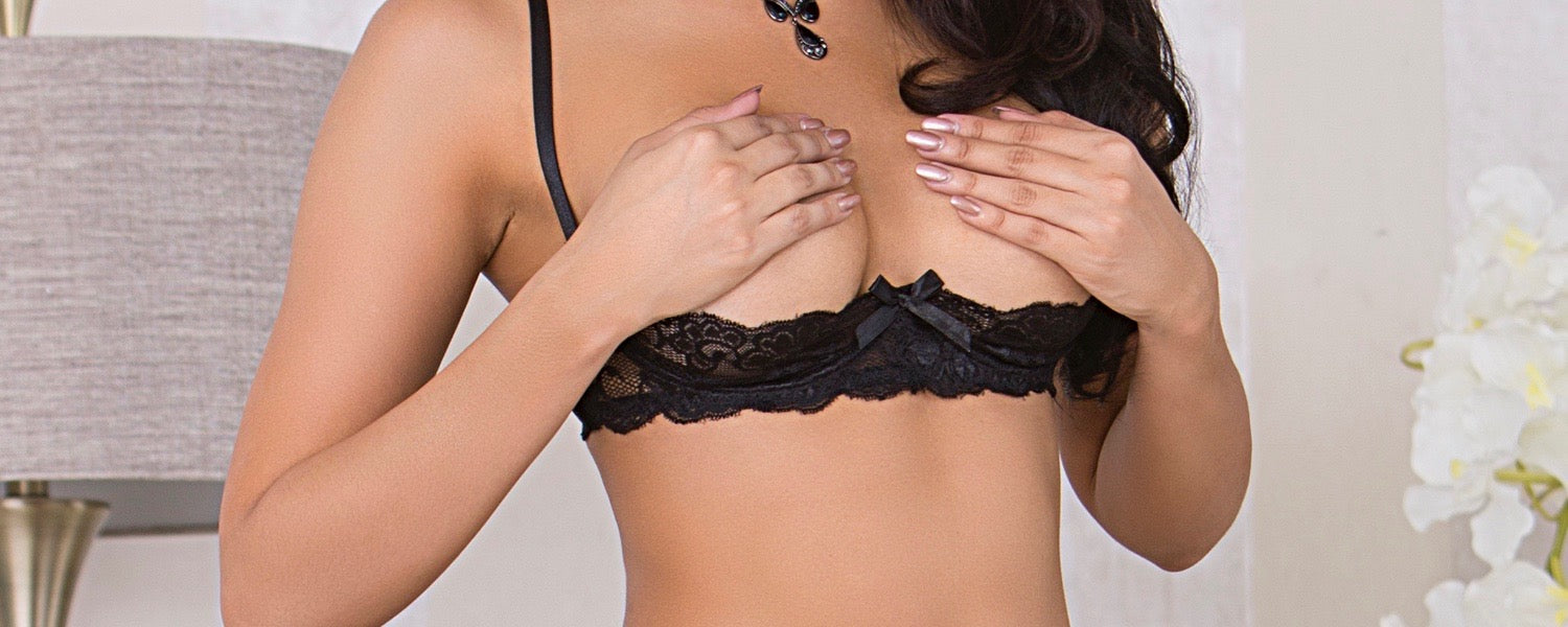 Shelf Bra, Open Cup Bra, & Cupless Bra | HauteFlair