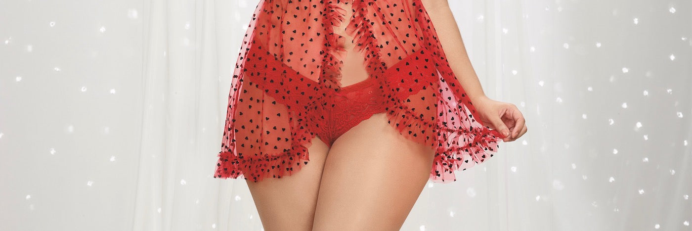 Valentine's Day Lingerie Plus Size Shopping Guide