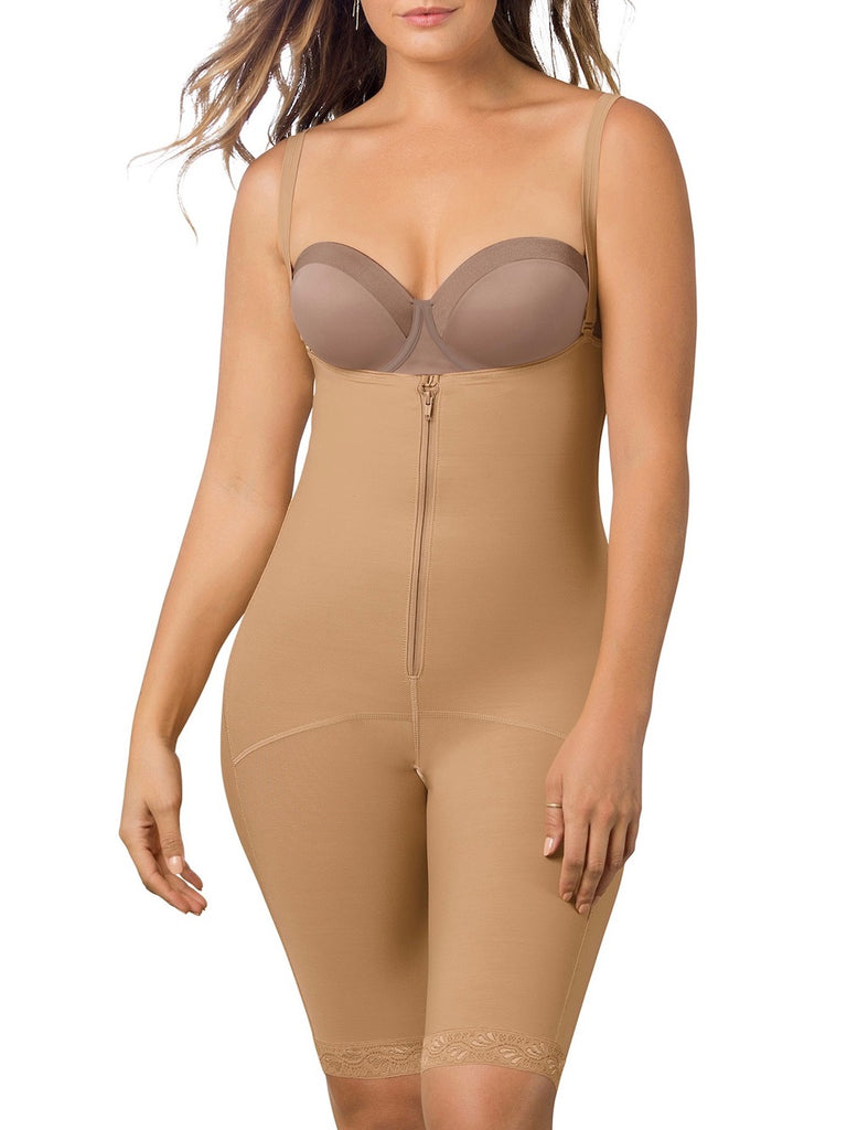 NewPI Bodysuit Lightweight Shapewear Women Firm Control Body Briefer Slimmer Full Body Shaper Breathable Smooth Corset Flower Design