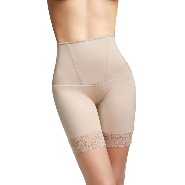 "Squeem ""Body Allure"" Women's Tummy Control Mid Thigh Shorts"