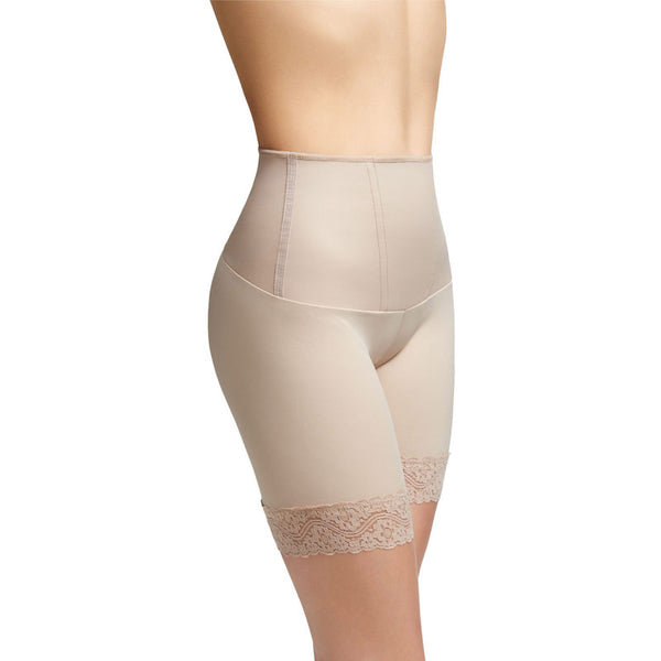 "Best shapewear for love handles, Squeem ""Body Allure"" Women's Tummy Control Mid Thigh Shorts"