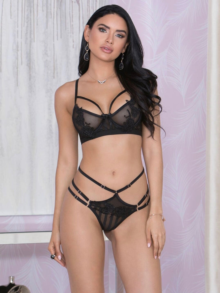 Valentine's Day Panty and Bra set