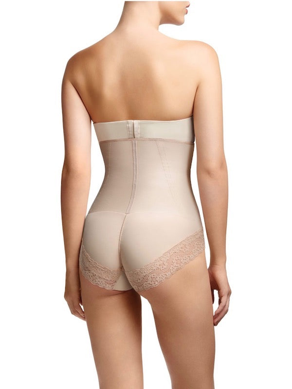 Shapewear For Love Handle - Squeem Rio Style High Waist Brief Bodysuit Shaper