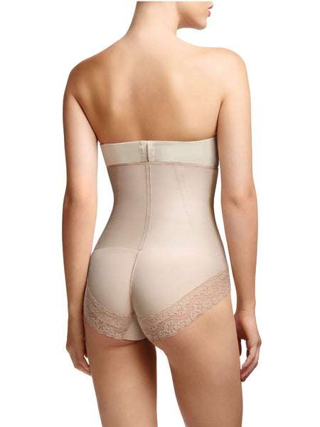 low back bodysuit shapewear- HauteFlair